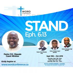 RCCG Overcomers Word Conference 2019 5