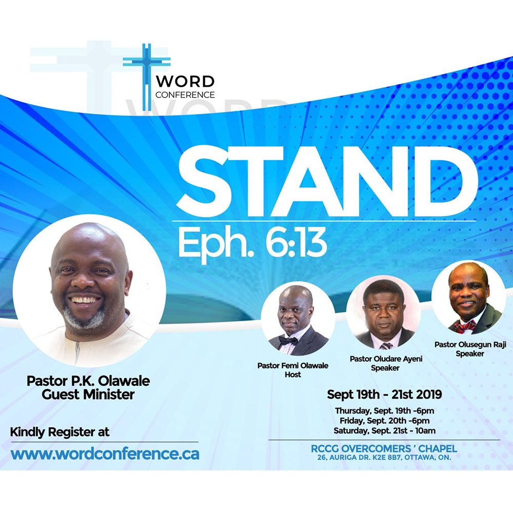 RCCG Overcomers Word Conference 2019 7